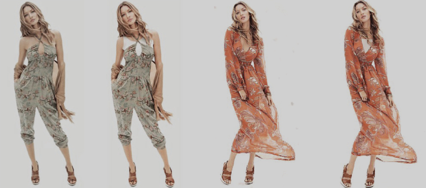 Figure 1: H&M's digital campaign was changed as on second and fourth pictures white t-shirts were added.